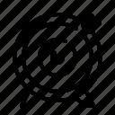 arrow, bullseye, start up, startup, target icon