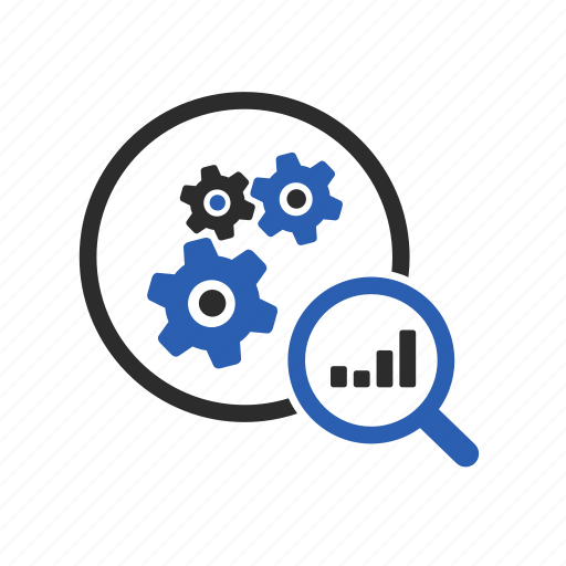 Benefits, gears, management, plan, project, review icon - Download on Iconfinder