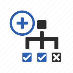 exception, management, options, plan, project icon