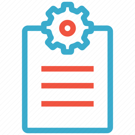 board, clipboard, management, office, paper, project, task icon