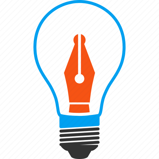 blog, bulb, education, energy, media, news maker, sensation icon