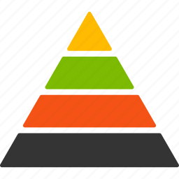 fake, hierarchy, link building, management, organization, pyramid, structure icon