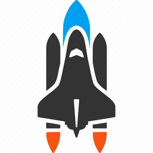 business start, explorer, rocket science, shuttle launch, space ship, spaceship, startup icon