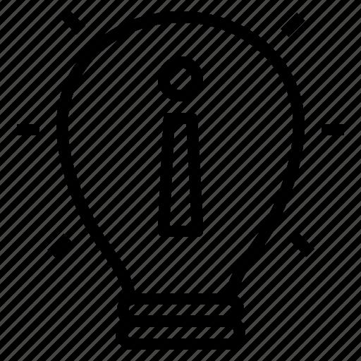 focus, idea, matter, think, topic icon