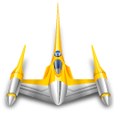 naboo, star wars, starfighter icon