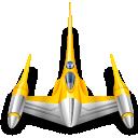 naboo, star wars, starfighter icon