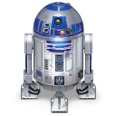 r2d2, star wars, droid, robot icon