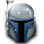 bounty hunter, helmet, jango fett, star wars icon