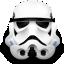 clone, droid, helmet, star wars, storm trooper icon