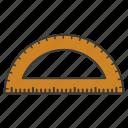 arc, equipment, math, ruler, tool