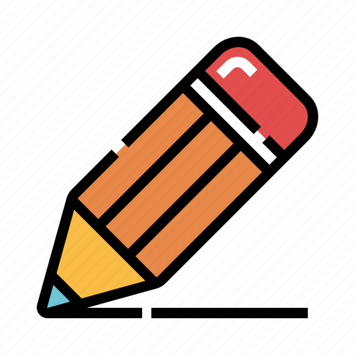 creativity, drawing, education, equipment, office, pencil, stationary icon