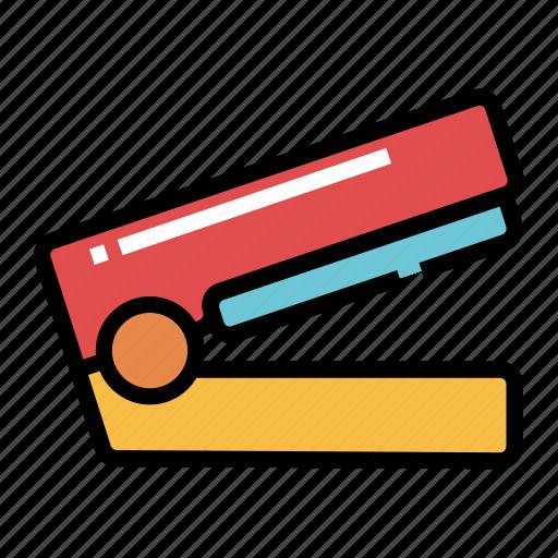 office, paper, staple, stapler, staples, stationery icon