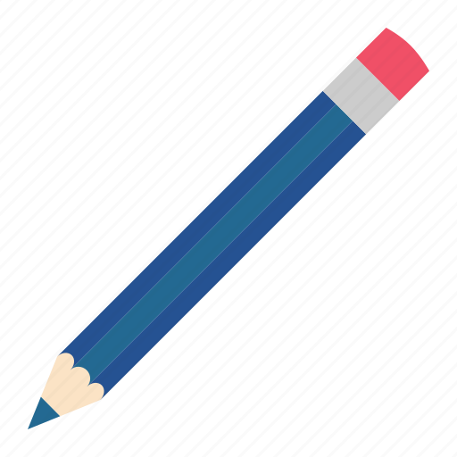 blue, dark, hovytech, pencil, school, stationery, work icon