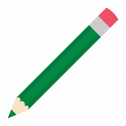 dark, green, hovytech, pencil, school, stationery, work icon