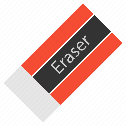eraser, hovytech, office, rubber, school, stationery, work icon