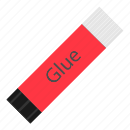 glue, hovytech, office, paper, school, stationery, work icon