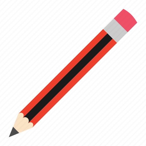 eraser, hovytech, office, pencil, school, stationery, work icon