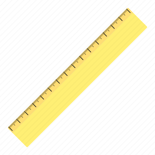 hovytech, measure, office, ruler, school, stationery, work icon