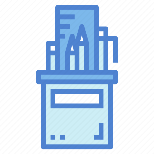 case, edit, pencil, stationery, tools, writing icon
