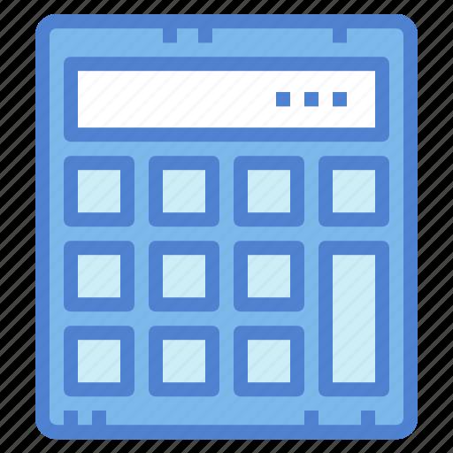 calculator, education, maths, technology icon