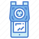 material, pencil, school, sharpener, tools icon