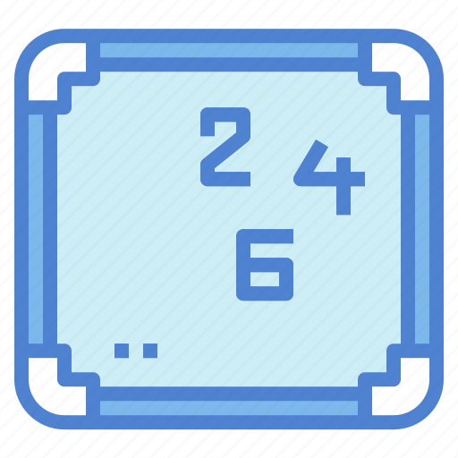 education, school, screen, whiteboard icon