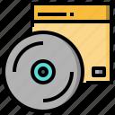 bluray, cd, disc, dvd, multimedia, music, player icon