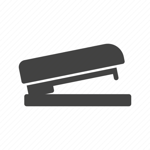 business, clip, object, office, paper, stapler, work icon