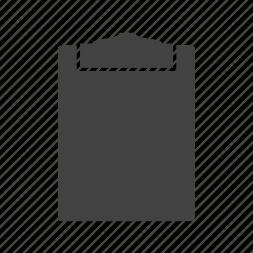 blank, board, clip, clipboard, menu, pad, paper icon