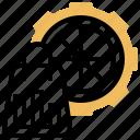 analysis, buyer, demand, setting, shopping icon