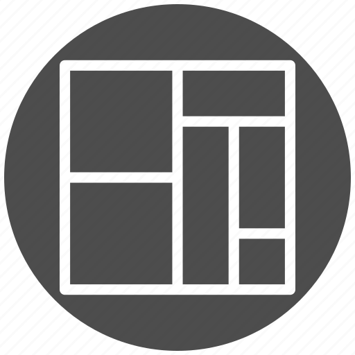 analysis, business, chart, graph, graphic, mekko, treemap icon