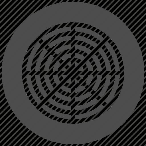 analysis, business, chart, graph, radar, radial, statistical icon