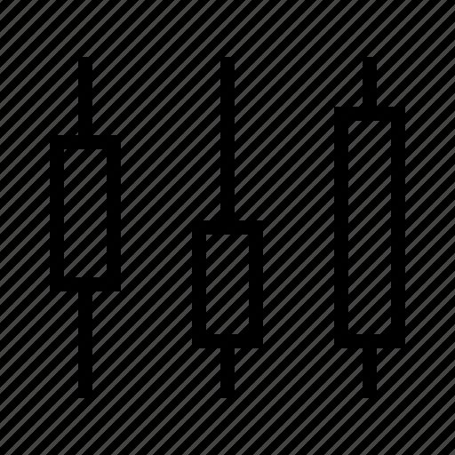 candlestick chart icon