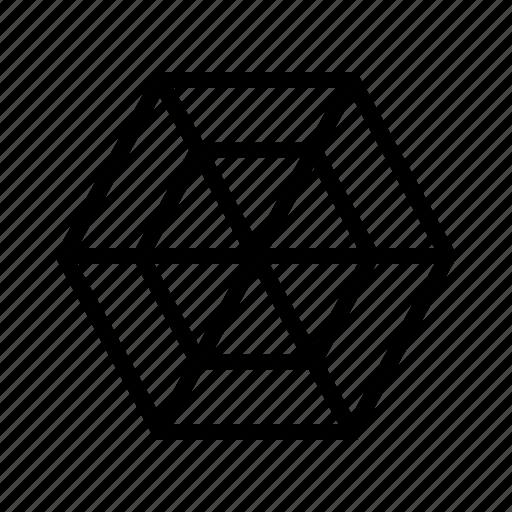 chart, radar icon