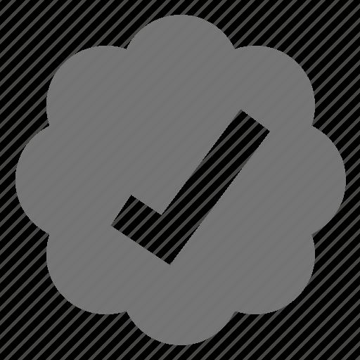 bubble, check, select icon