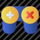 controller, game, joy, keypad, play icon