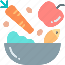 food, healthy, vegetable icon