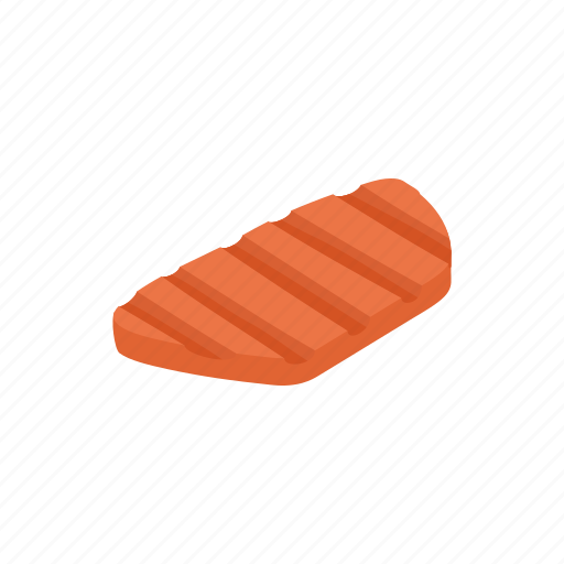 beef, cartoon, cooking, food, meat, piece, teak icon