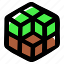 block, build, crafting, minecraft icon