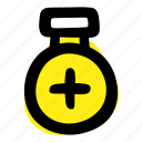flask, potion, vial icon