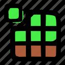 puzzle, terraria, tetris icon