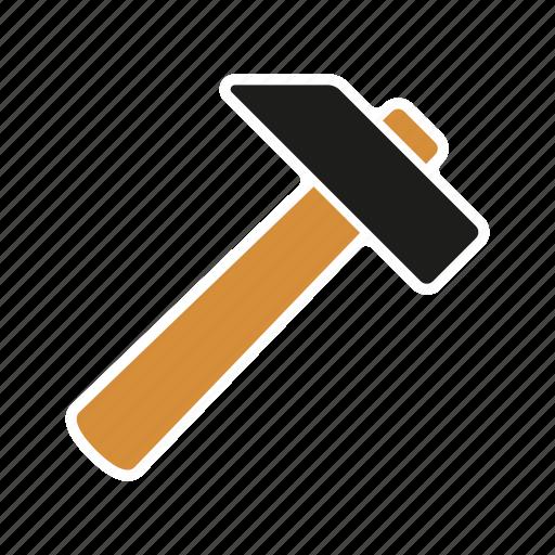 carpentry, diy, equipment, hammer, tool, workshop icon