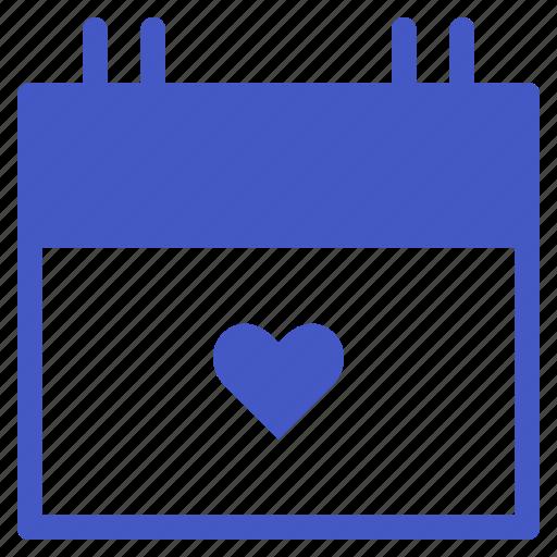 calendar, date, love, schedule, time, valentine, wedding icon