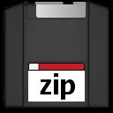 dev, storage, zipdisk icon