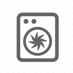 clothes, drying, machine, pressing, spin, washer, washing icon