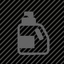 bleach, bottle, cleanser, detergent, laundry, liquid, wash icon