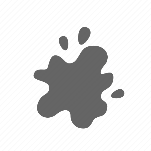 blot, blotch, contamination, dirt, smudge, spot icon