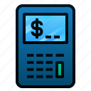 calculate, calculator, finance, investing, investment, risk, stocks icon