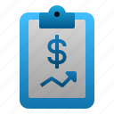 business, data, finance, financial, investment, report, stocks icon