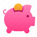 business, finance, investment, management, money, piggy bank, save